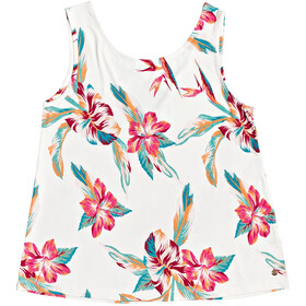 Roxy Fine With You Printed Tanktop Dames, snow white tropic call